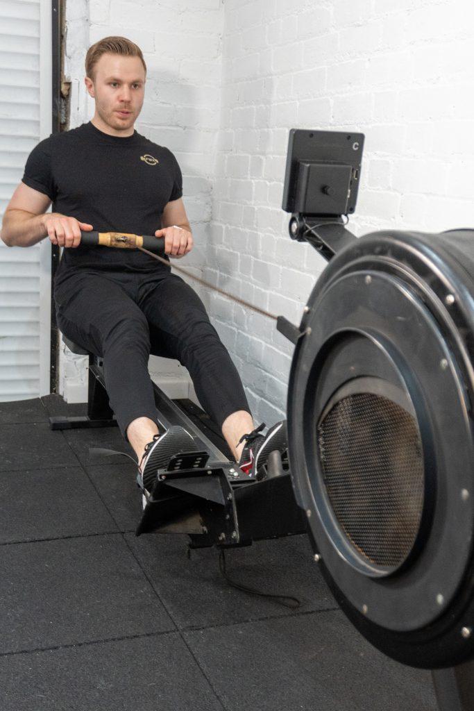 Personal Training Studio Rower