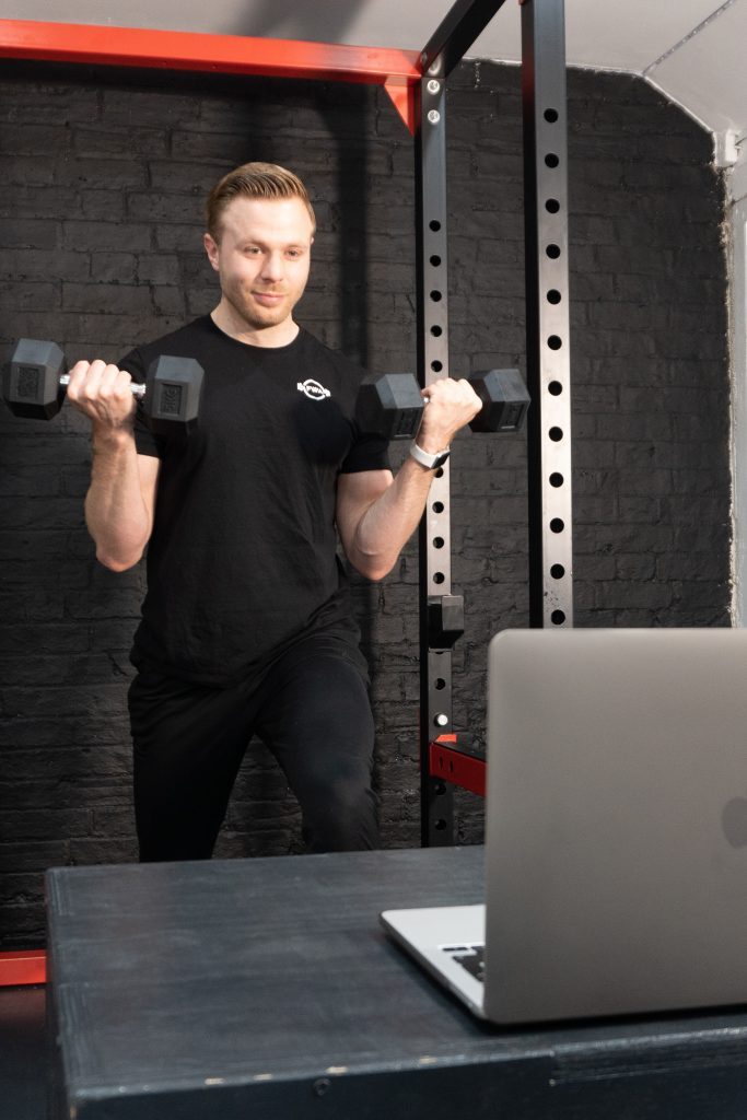 Online personal training session 1